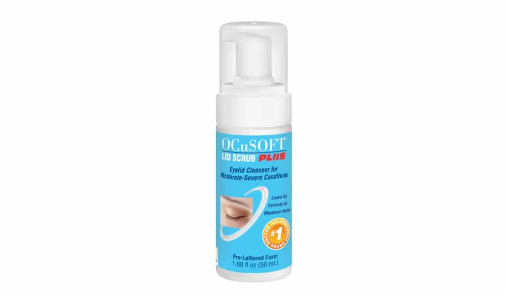 Hygiène des paupières avec Lid Scrub Plus